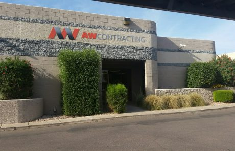 AW Contracting Corporation office building in Mesa, Arizona