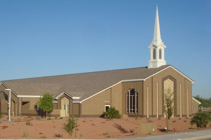 Anthem LDS chapel building in Surprise, Arizona