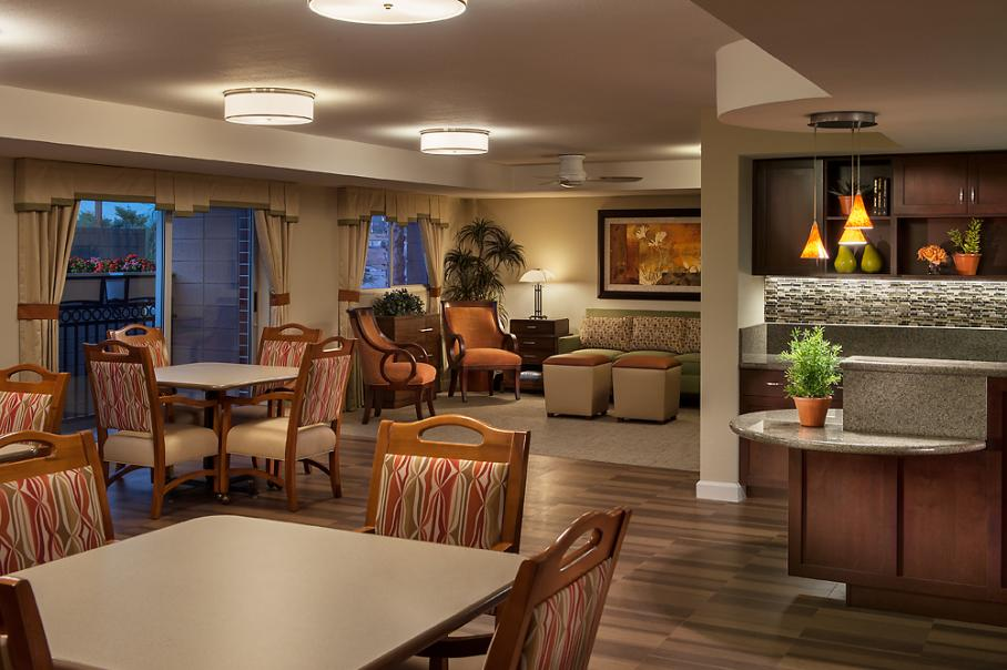 Avista assisted senior living community building contractors in Arizona