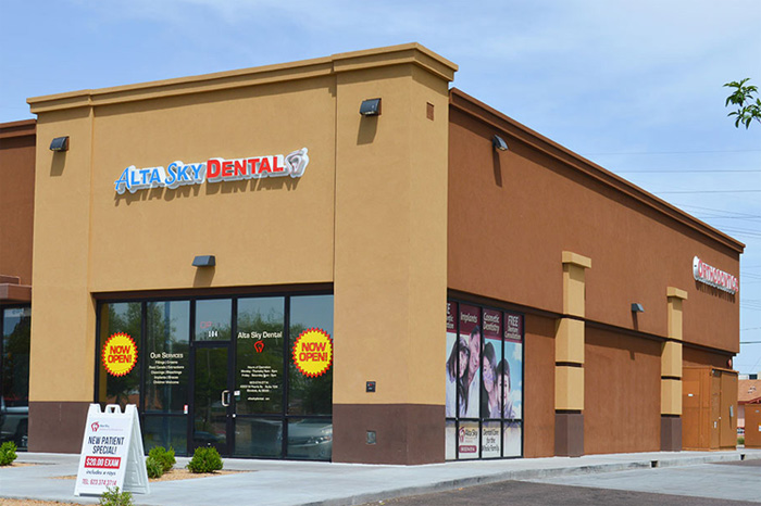 Alta Sky Dental Glendale Arizona building
