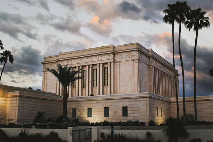 Mesa Arizona LDS temple construction company for Mormon chapels