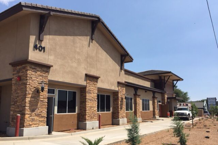 Payson retail office center construction company in AZ