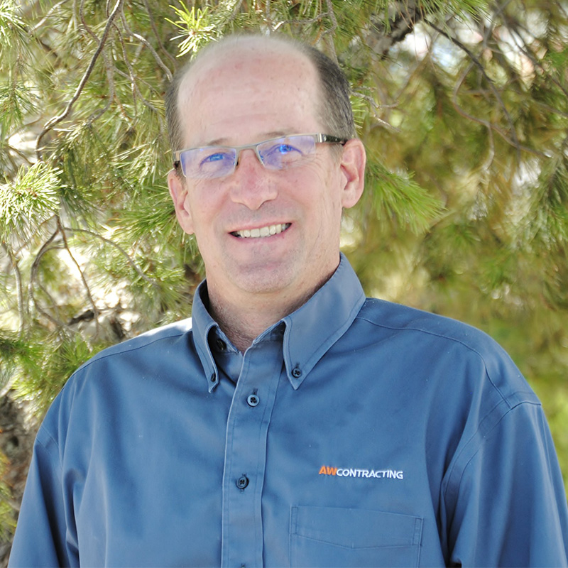 Alan Collier - President of AW Contracting