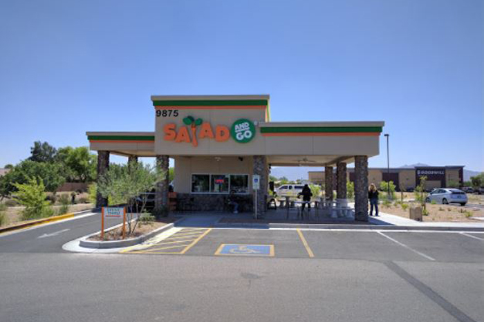 Salad and Go restaurant building contractors in Tolleson, AZ